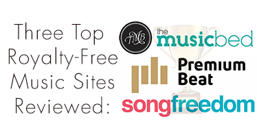 Video Production Royalty Free music: The Music Bed, Song Freedom & Premium Beat reviewed