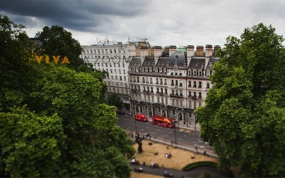 Belgravia, London: Tilt and Shift Photography