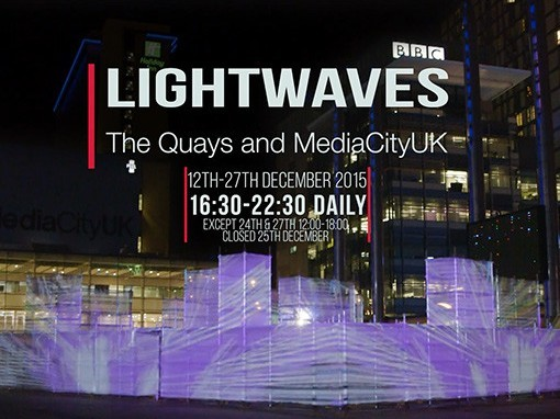 Quays Culture Lightwaves