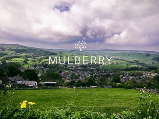 Mulberry, the making of a window display