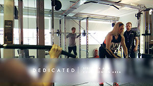 gym promotional video