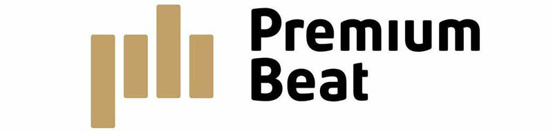 video production Royalty Free music: Premium Beat Logo