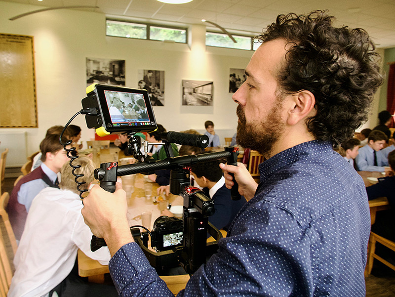 Fujifilm XT2 video production on Ronin Guille