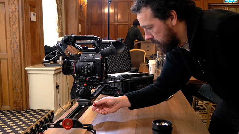 16mm Samyang Cine lens on the Fujifilm X-T2 and DJI Ronin-M