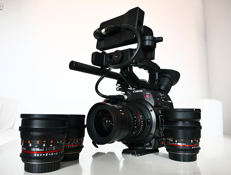 Canon C200 Review - C200 with Samyang lenses
