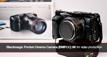 Blackmagic Pocket Cinema Camera 6K for video production review