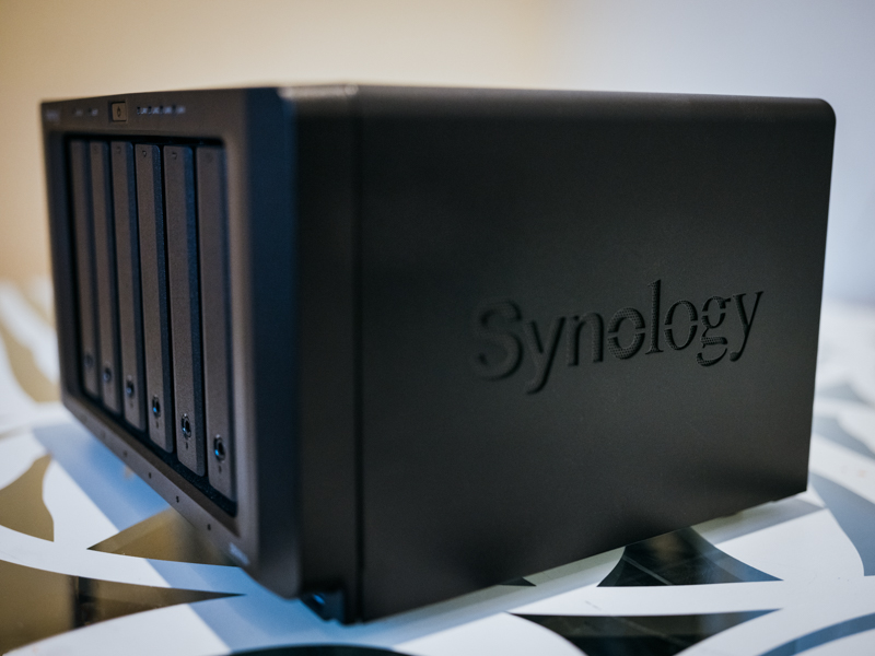 Synology NAS for video production blog intro photography