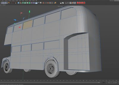 3D Box Modelling as an example of Motion Graphics