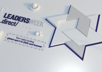 Leaders Week Branding 3D Motion Graphics Services